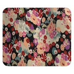 Japanese Ethnic Pattern Double Sided Flano Blanket (small)