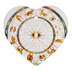 Zodiac  Institute Of Vedic Astrology Ornament (heart)