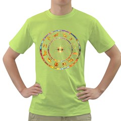 Zodiac  Institute Of Vedic Astrology Green T Shirt