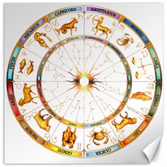 Zodiac  Institute Of Vedic Astrology Canvas 16  X 16