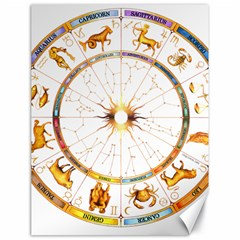 Zodiac  Institute Of Vedic Astrology Canvas 18  X 24