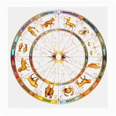 Zodiac  Institute Of Vedic Astrology Medium Glasses Cloth (2 Side)
