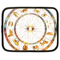 Zodiac  Institute Of Vedic Astrology Netbook Case (large)
