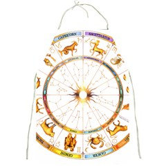 Zodiac  Institute Of Vedic Astrology Full Print Aprons