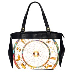 Zodiac  Institute Of Vedic Astrology Office Handbags (2 Sides)