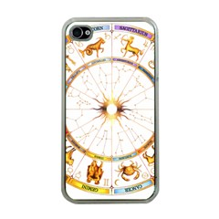 Zodiac  Institute Of Vedic Astrology Apple Iphone 4 Case (clear)