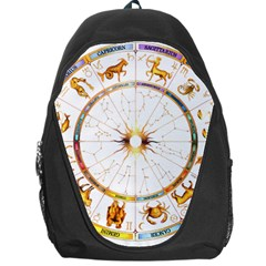 Zodiac  Institute Of Vedic Astrology Backpack Bag