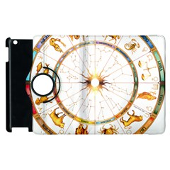 Zodiac  Institute Of Vedic Astrology Apple Ipad 2 Flip 360 Case