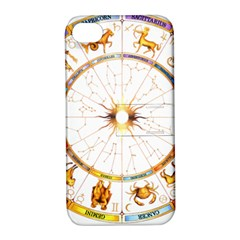 Zodiac  Institute Of Vedic Astrology Apple Iphone 4/4s Hardshell Case With Stand