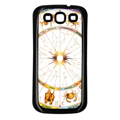 Zodiac  Institute Of Vedic Astrology Samsung Galaxy S3 Back Case (black)