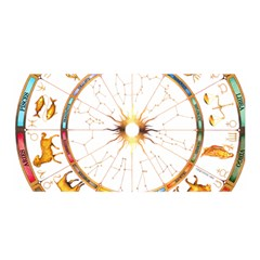 Zodiac  Institute Of Vedic Astrology Satin Wrap