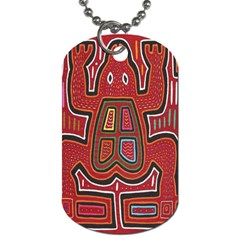 Frog Pattern Dog Tag (two Sides)