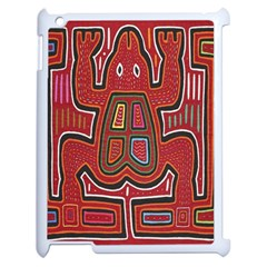 Frog Pattern Apple Ipad 2 Case (white)