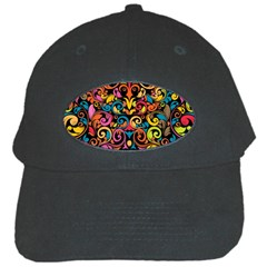 Art Traditional Pattern Black Cap