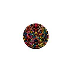 Art Traditional Pattern 1  Mini Magnets