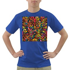Art Traditional Pattern Dark T Shirt