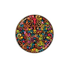 Art Traditional Pattern Hat Clip Ball Marker
