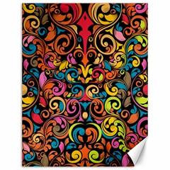 Art Traditional Pattern Canvas 12  X 16