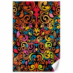 Art Traditional Pattern Canvas 24  X 36