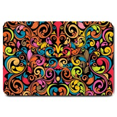 Art Traditional Pattern Large Doormat