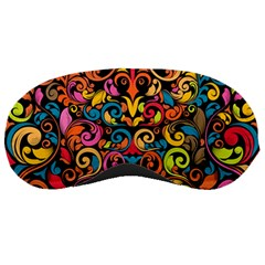 Art Traditional Pattern Sleeping Masks