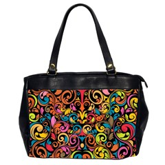 Art Traditional Pattern Office Handbags (2 Sides)