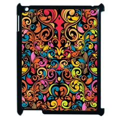 Art Traditional Pattern Apple Ipad 2 Case (black)