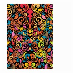 Art Traditional Pattern Small Garden Flag (two Sides)