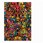 Art Traditional Pattern Large Garden Flag (Two Sides) Back
