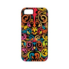 Art Traditional Pattern Apple Iphone 5 Classic Hardshell Case (pc+silicone)
