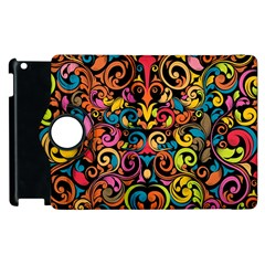 Art Traditional Pattern Apple Ipad 2 Flip 360 Case