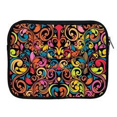 Art Traditional Pattern Apple Ipad 2/3/4 Zipper Cases