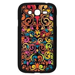 Art Traditional Pattern Samsung Galaxy Grand Duos I9082 Case (black)