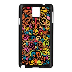 Art Traditional Pattern Samsung Galaxy Note 3 N9005 Case (black)