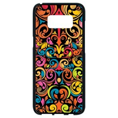 Art Traditional Pattern Samsung Galaxy S8 Black Seamless Case