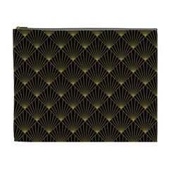 Abstract Stripes Pattern Cosmetic Bag (xl)