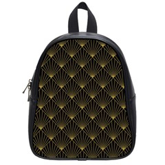 Abstract Stripes Pattern School Bag (small)
