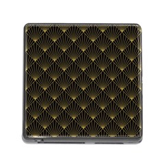 Abstract Stripes Pattern Memory Card Reader (square)