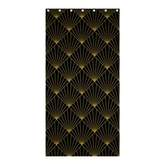 Abstract Stripes Pattern Shower Curtain 36  X 72  (stall)