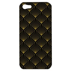Abstract Stripes Pattern Apple Iphone 5 Hardshell Case