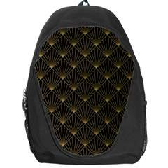 Abstract Stripes Pattern Backpack Bag