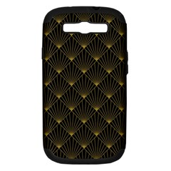 Abstract Stripes Pattern Samsung Galaxy S Iii Hardshell Case (pc+silicone)