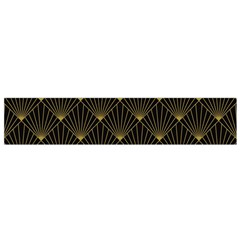 Abstract Stripes Pattern Flano Scarf (small)
