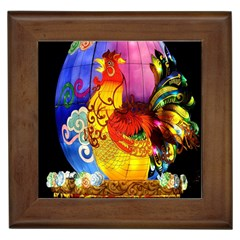 Chinese Zodiac Signs Framed Tiles