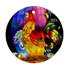 Chinese Zodiac Signs Ornament (round)