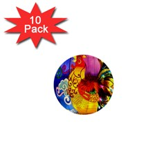Chinese Zodiac Signs 1  Mini Buttons (10 Pack)