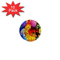 Chinese Zodiac Signs 1  Mini Magnet (10 Pack)