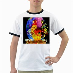 Chinese Zodiac Signs Ringer T Shirts