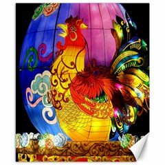 Chinese Zodiac Signs Canvas 8  X 10