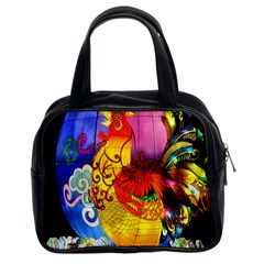 Chinese Zodiac Signs Classic Handbags (2 Sides)